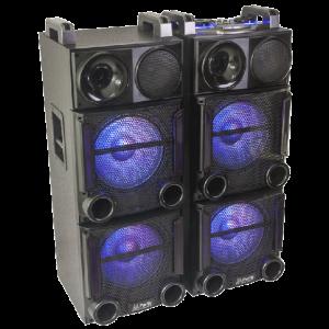DJ and Speakers